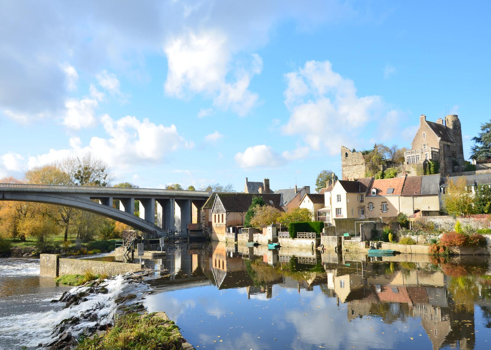 Vue de Beaumont-sus-Sarthe